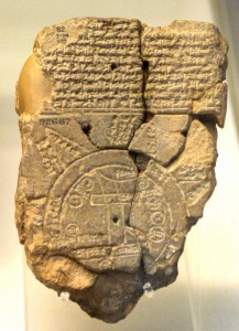 Paul's Babylonian Map